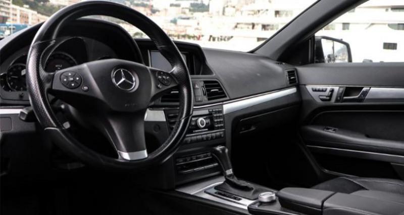Mercedes Classe E 350 Cabriolet 350 CDI Executive BE BA Noir occasion à MONACO - photo n°4