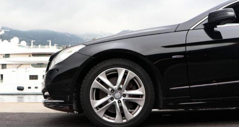 Mercedes Classe E 350 Cabriolet 350 CDI Executive BE BA Noir occasion à MONACO - photo n°7