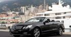 Mercedes Classe E 350 Cabriolet 350 CDI Executive BE BA Noir à MONACO 98