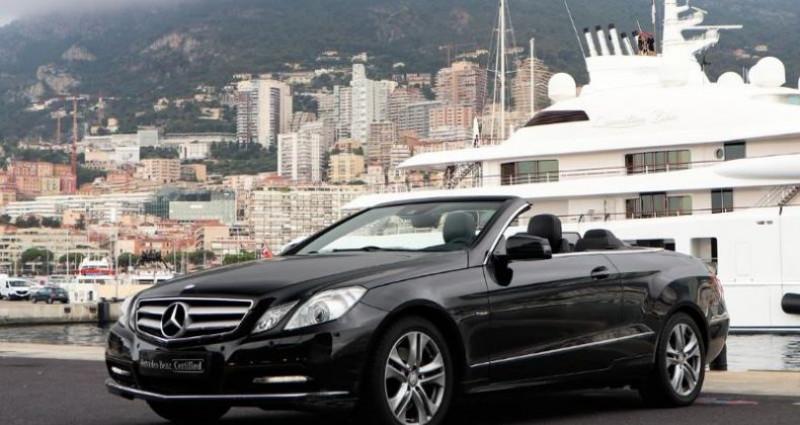 Mercedes Classe E 350 Cabriolet 350 CDI Executive BE BA Noir occasion à MONACO