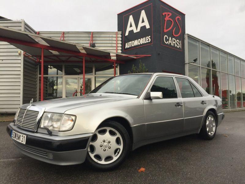 Mercedes Classe E 500 occasion 1992 mise en vente à Castelmaurou par le garage BS CARS.COM - photo n°1