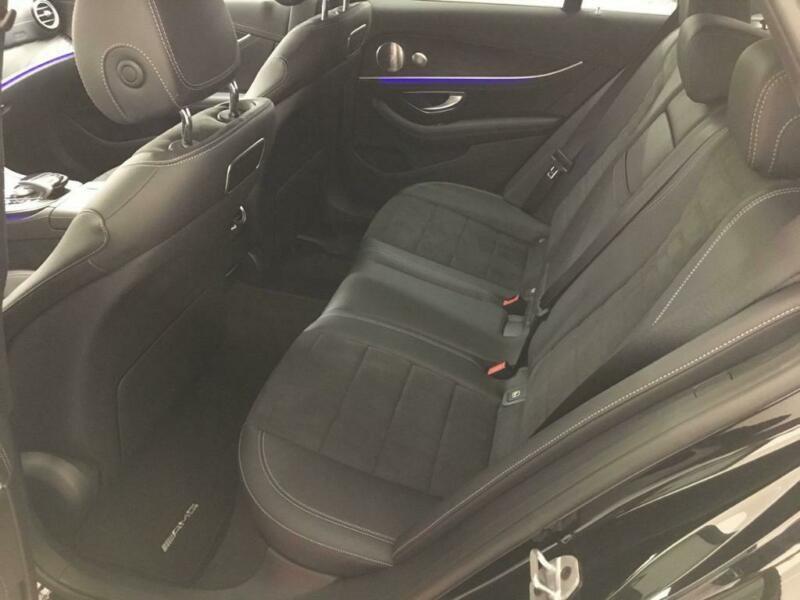 Mercedes Classe E (S213) 300 DE 194+122CH AMG LINE 9G-TRONIC Noir occasion à Villenave-d'Ornon - photo n°6