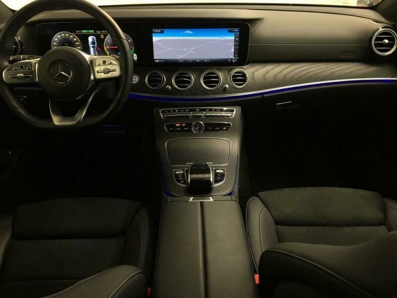 Mercedes Classe E (S213) 300 DE 194+122CH AMG LINE 9G-TRONIC Noir occasion à Villenave-d'Ornon - photo n°8