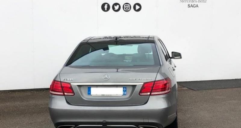 Mercedes Classe E 300 BlueTEC HYBRID Fascination 7G-Tronic Plus Gris occasion à Boulogne Sur Mer - photo n°5