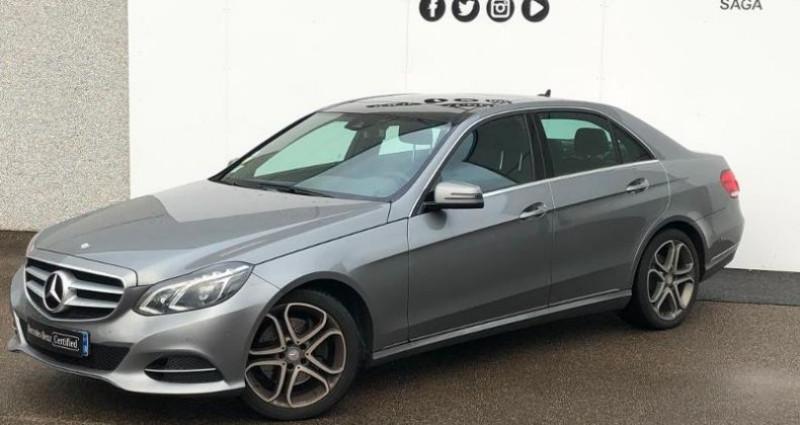 Mercedes Classe E 300 BlueTEC HYBRID Fascination 7G-Tronic Plus Gris occasion à Boulogne Sur Mer - photo n°4