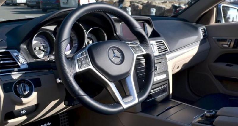 Mercedes Classe E Cabriolet 400 333ch Sportline 7G-TRONIC PLUS Argent occasion à MONACO - photo n°4