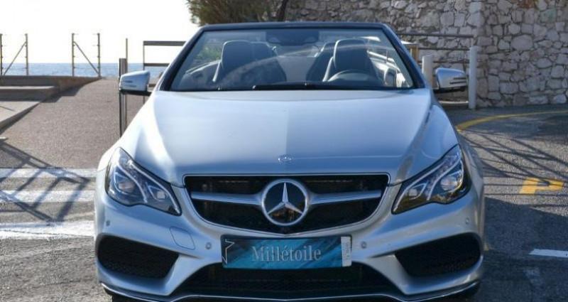 Mercedes Classe E Cabriolet 400 333ch Sportline 7G-TRONIC PLUS Argent occasion à MONACO - photo n°2