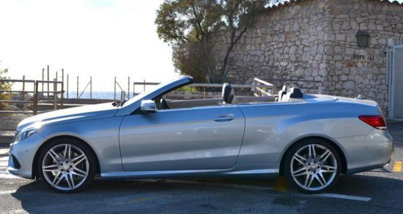 Mercedes Classe E Cabriolet 400 333ch Sportline 7G-TRONIC PLUS Argent occasion à MONACO - photo n°7