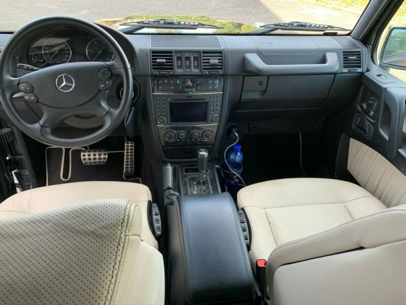 Mercedes Classe G 350 BLUETEC BREAK LONG 7GTRO Noir occasion à Villenave-d'Ornon - photo n°3