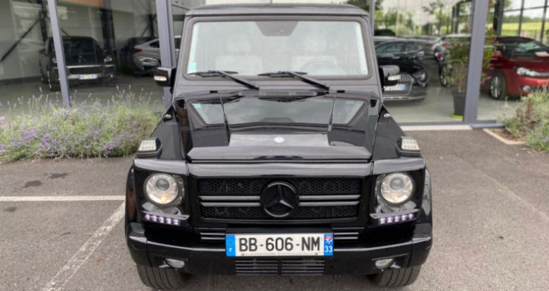 Mercedes Classe G 500 BREAK LONG 7GTRO Noir occasion à Grezac - photo n°3