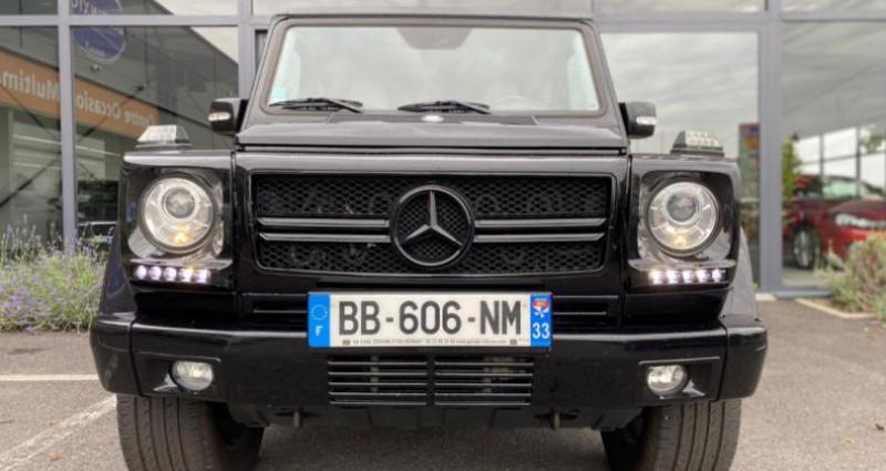 Mercedes Classe G 500 BREAK LONG 7GTRO Noir occasion à Grezac - photo n°2
