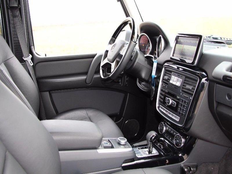 Mercedes Classe G 500 Argent occasion à Beaupuy - photo n°3