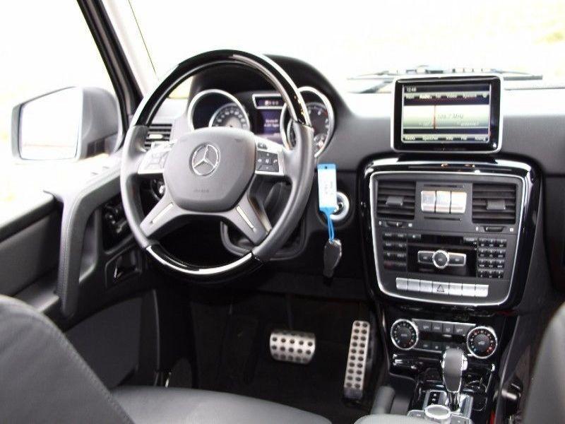 Mercedes Classe G 500 Argent occasion à Beaupuy - photo n°4