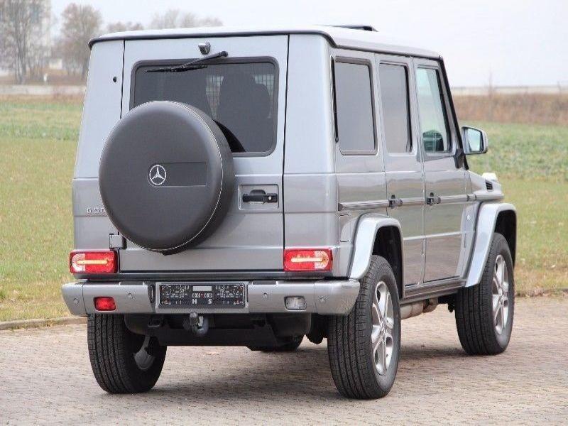 Mercedes Classe G 500 Argent occasion à Beaupuy - photo n°2