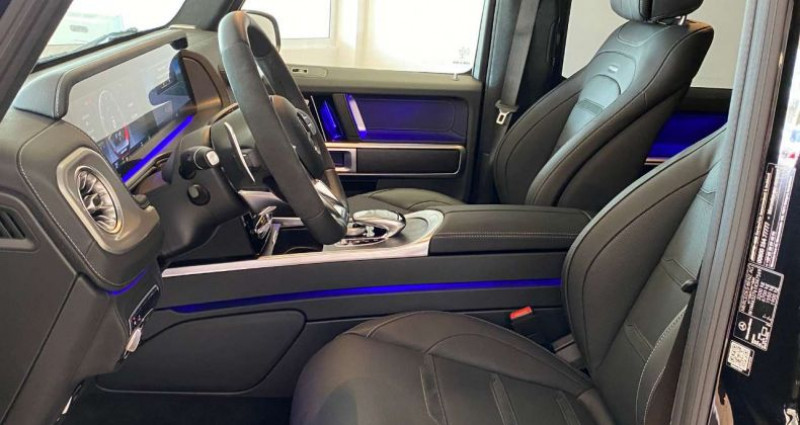 Mercedes Classe G 63 AMG Noir occasion à Levallois Perret - photo n°4