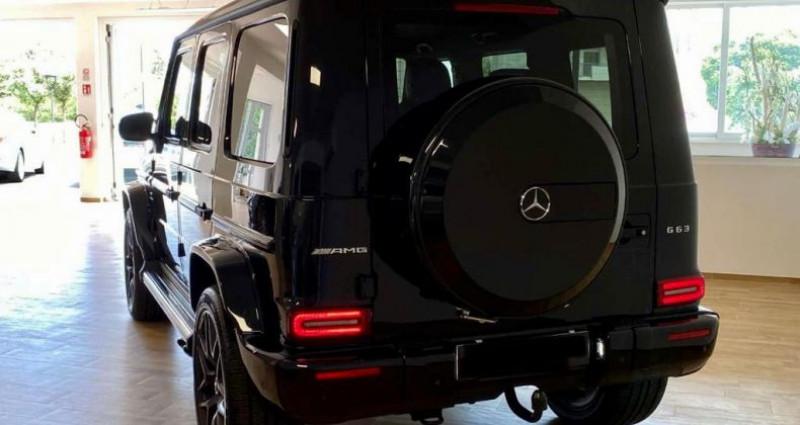 Mercedes Classe G 63 AMG Noir occasion à Levallois Perret - photo n°2
