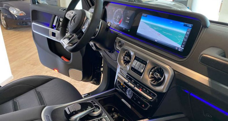 Mercedes Classe G 63 AMG Noir occasion à Levallois Perret - photo n°3