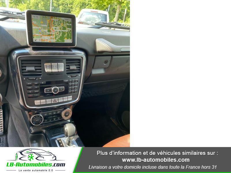 Mercedes Classe G Long 350d Noir occasion à Beaupuy - photo n°6
