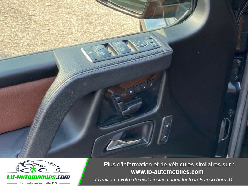 Mercedes Classe G Long 350d Noir occasion à Beaupuy - photo n°7