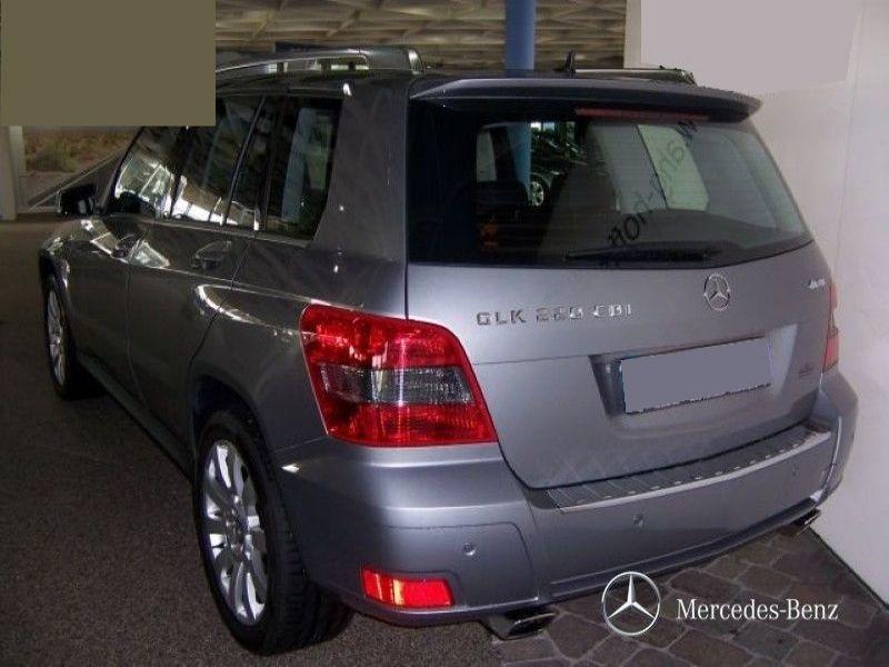Mercedes Classe GLK 220 220 CDI 4 Matic Argent occasion à Beaupuy - photo n°2