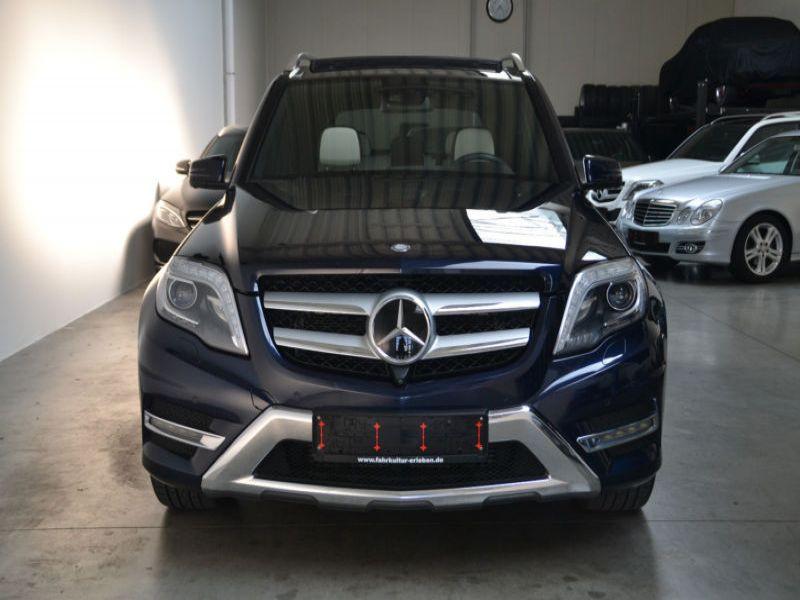 Mercedes Classe GLK 220 220 CDI AMG 4 Matic Bleu occasion à Beaupuy - photo n°6