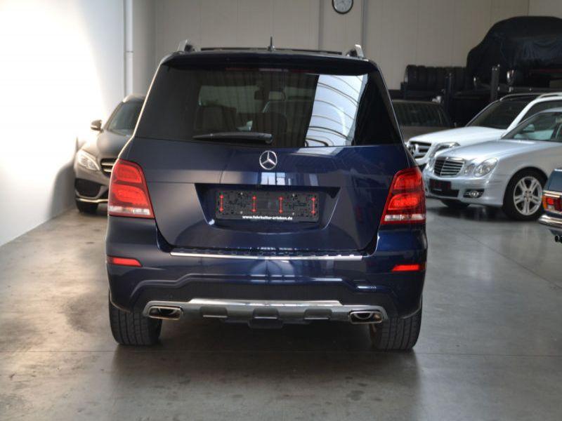 Mercedes Classe GLK 220 220 CDI AMG 4 Matic Bleu occasion à Beaupuy - photo n°7