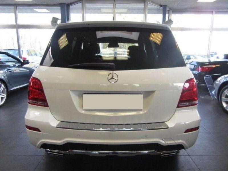 Mercedes Classe GLK 220 220 CDI AMG 4 Matic Blanc occasion à Beaupuy - photo n°8