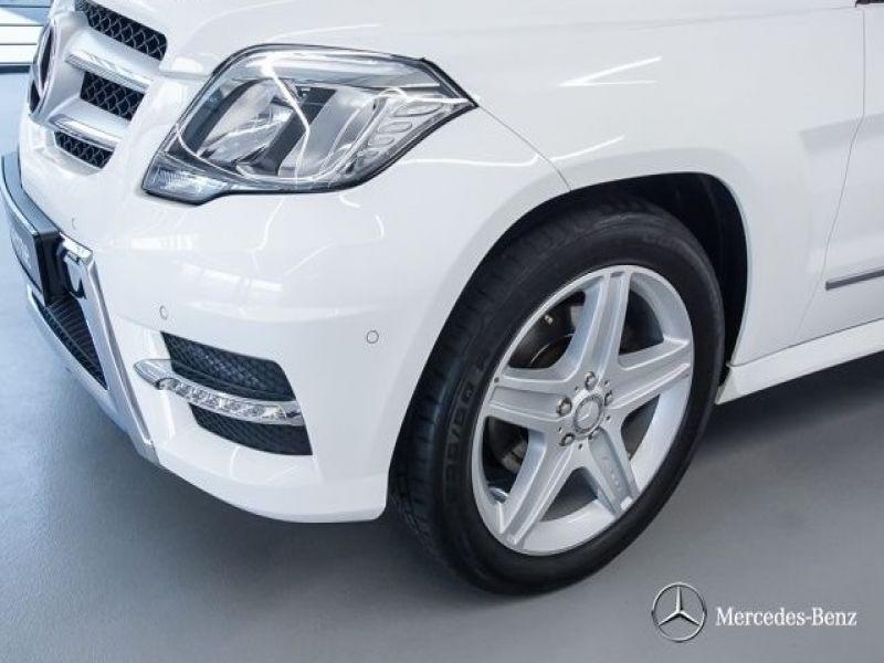 Mercedes Classe GLK 220 220 CDI AMG 4 Matic Blanc occasion à Beaupuy - photo n°9
