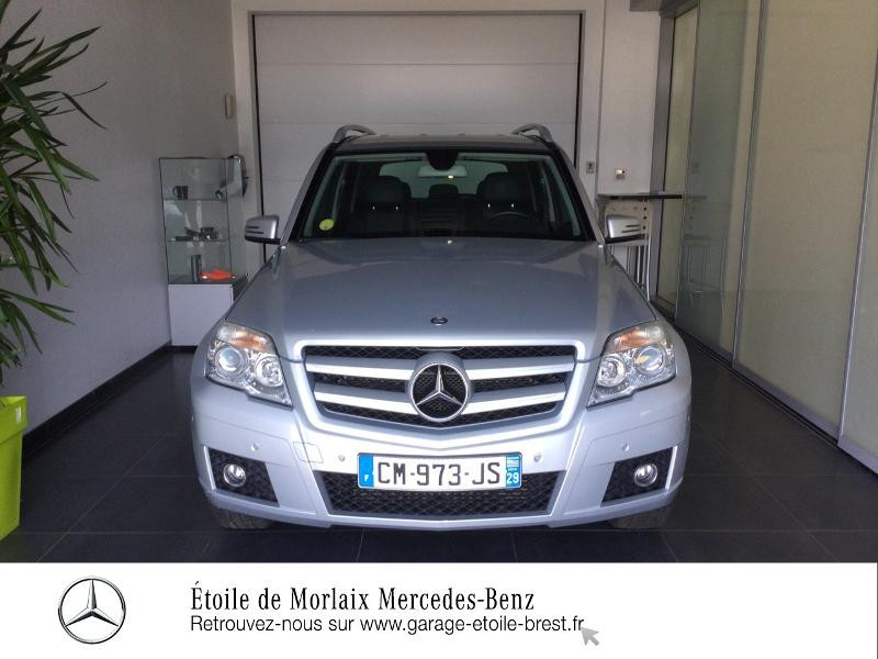 Mercedes Classe GLK 220 220 CDI BE 4 Matic Argent occasion à Saint Martin des Champs - photo n°5