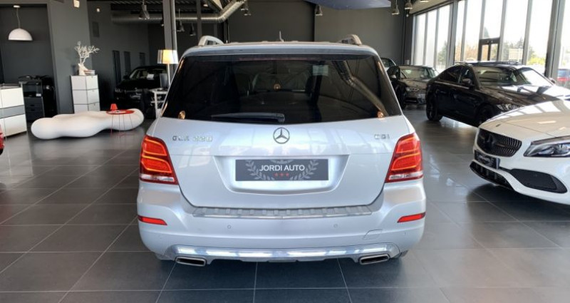 Mercedes Classe GLK 220 220 CDI BlueEFFICIENCY Sport A Gris occasion à LE SOLER - photo n°5