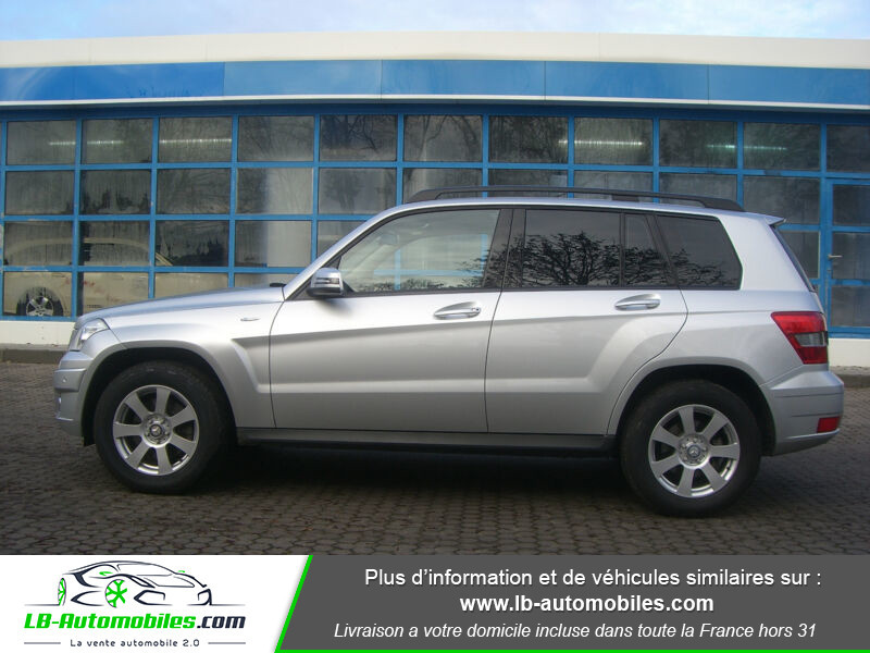 Mercedes Classe GLK 250 250 CDI BlueEFFICIENCY / 4Matic A Argent occasion à Beaupuy - photo n°9