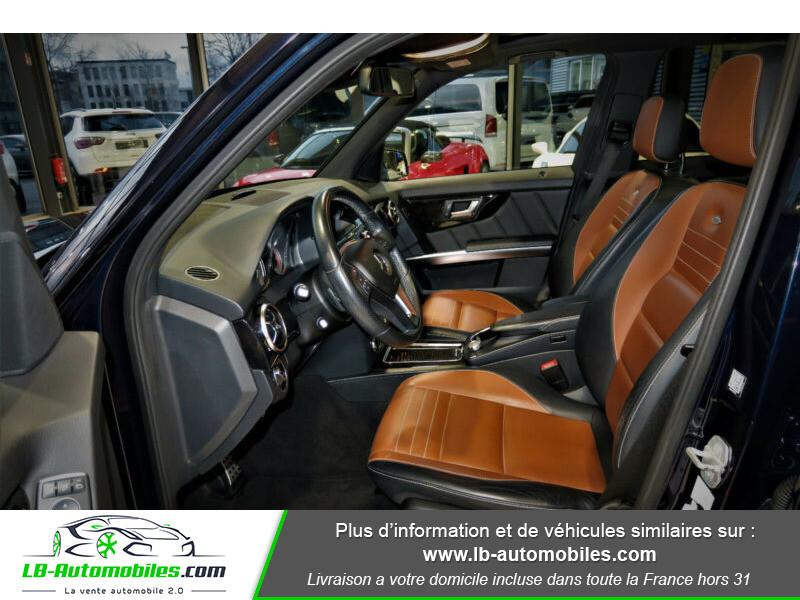 Mercedes Classe GLK 250 250 CDI BlueEFFICIENCY / 4Matic A Bleu occasion à Beaupuy - photo n°4