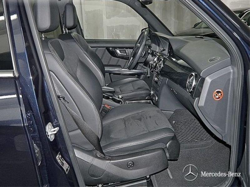 Mercedes Classe GLK 350 350 CDI 4 Matic AMG Bleu occasion à Beaupuy - photo n°3