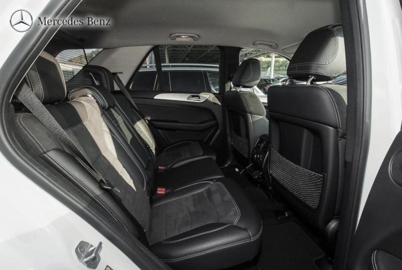 Mercedes Classe ML 250 (W166) 250 BLUETEC 7G-TRONIC + Blanc occasion à Quimper - photo n°5