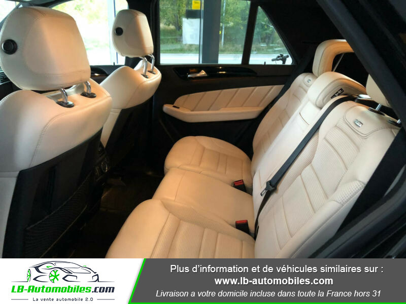 Mercedes Classe ML 63 AMG 63 AMG 4Matic Noir occasion à Beaupuy - photo n°5