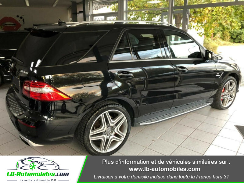 Mercedes Classe ML 63 AMG 63 AMG 4Matic Noir occasion à Beaupuy - photo n°3