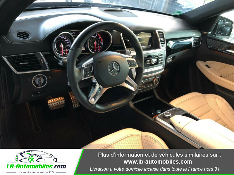 Mercedes Classe ML 63 AMG 63 AMG 4Matic Noir occasion à Beaupuy - photo n°2