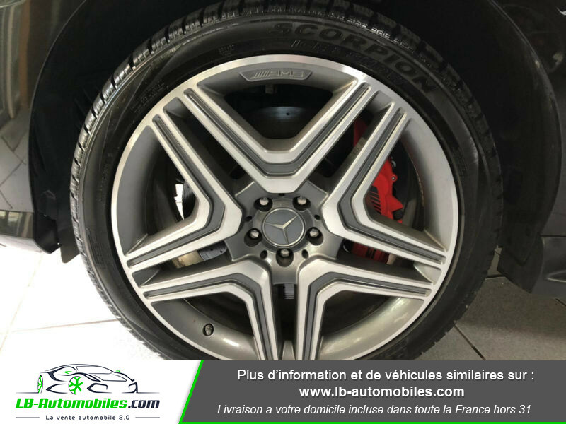 Mercedes Classe ML 63 AMG 63 AMG 4Matic Noir occasion à Beaupuy - photo n°10