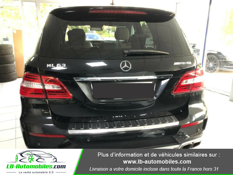 Mercedes Classe ML 63 AMG 63 AMG 4Matic Noir occasion à Beaupuy - photo n°9