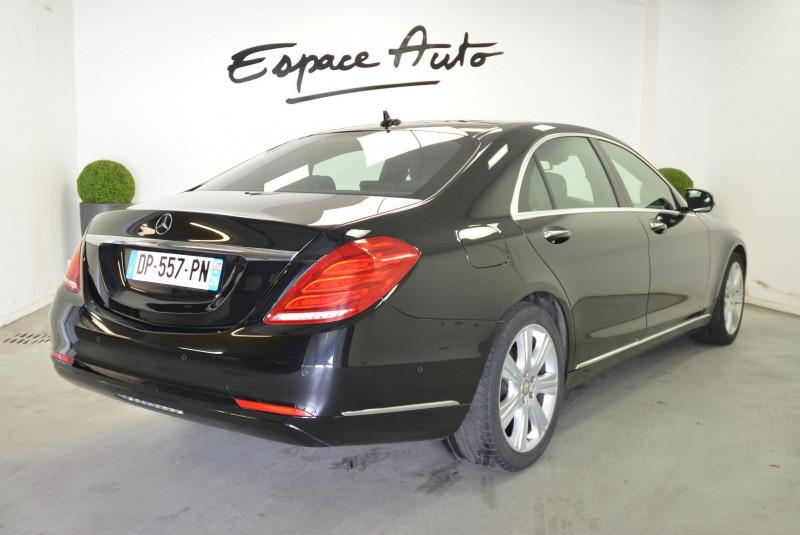 Mercedes Classe S 350 (W222) 350 BLUETEC EXECUTIVE L 7G-TRONIC PLUS Noir occasion à Quimper - photo n°2