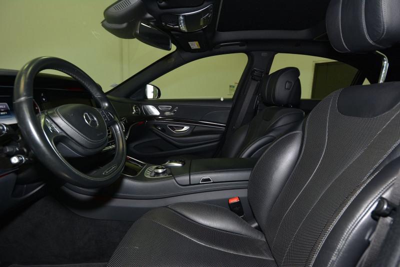 Mercedes Classe S 350 (W222) 350 BLUETEC EXECUTIVE L 7G-TRONIC PLUS Noir occasion à Quimper - photo n°3
