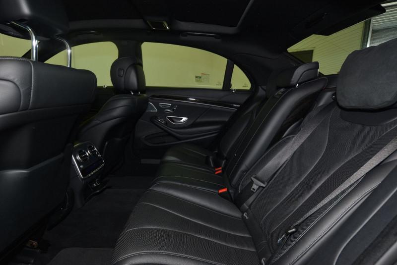 Mercedes Classe S 350 (W222) 350 BLUETEC EXECUTIVE L 7G-TRONIC PLUS Noir occasion à Quimper - photo n°4