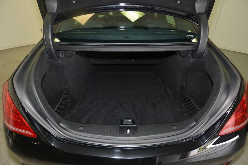 Mercedes Classe S 350 (W222) 350 BLUETEC EXECUTIVE L 7G-TRONIC PLUS Noir occasion à Quimper - photo n°6
