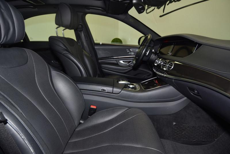Mercedes Classe S 350 (W222) 350 BLUETEC EXECUTIVE L 7G-TRONIC PLUS Noir occasion à Quimper - photo n°7