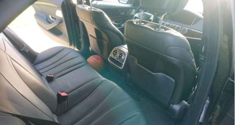 Mercedes Classe S 350 350 BlueTEC 7G-Tronic Plus 12/11/2014 Noir occasion à Saint Patrice - photo n°7