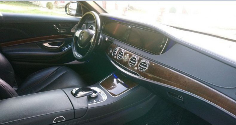Mercedes Classe S 350 350 BlueTEC 7G-Tronic Plus 12/11/2014 Noir occasion à Saint Patrice - photo n°6