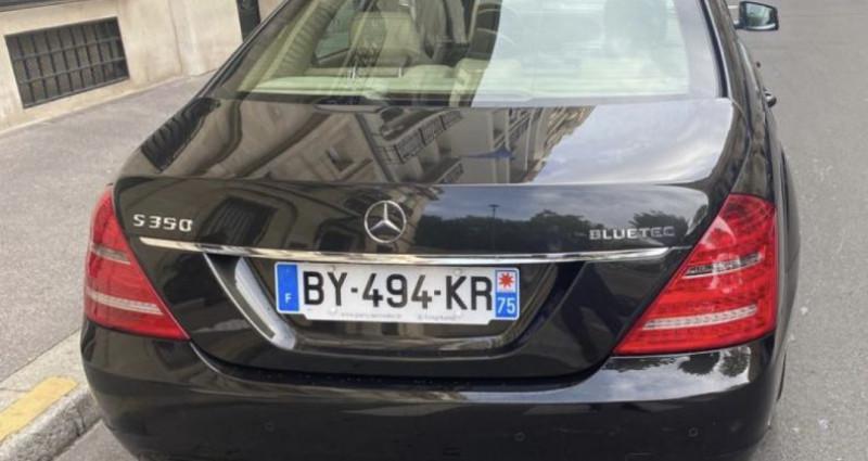 Mercedes Classe S 350 350 CDI BlueTec A Noir occasion à GASSIN - photo n°4