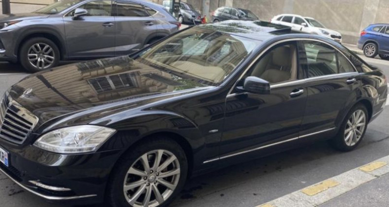 Mercedes Classe S 350 350 CDI BlueTec A Noir occasion à GASSIN - photo n°2