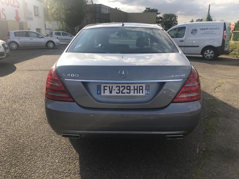 Mercedes Classe S 400 (W221) 400 HYBRID L Gris occasion à Thiverval-Grignon - photo n°5