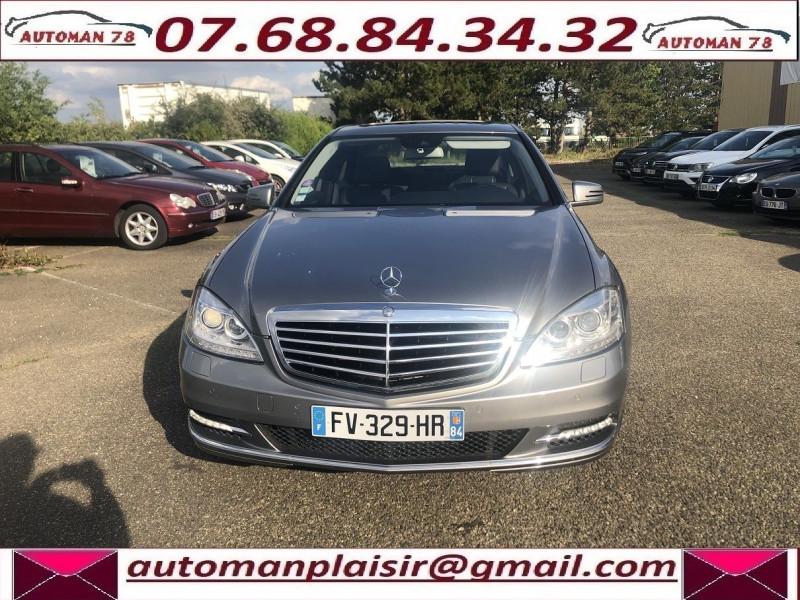 Mercedes Classe S 400 (W221) 400 HYBRID L Gris occasion à Thiverval-Grignon - photo n°2
